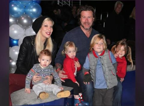 News video: Tori Spelling Admits She Uses Surveillance To Track Dean McDermott, Wants Their Kids To See True Tori