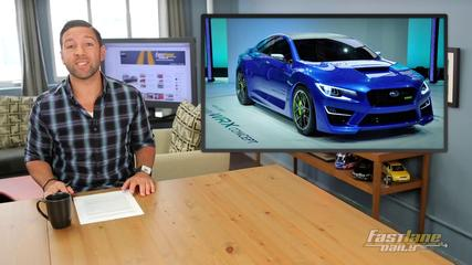 News video: 2016 Subaru WRX, Lighter Ford Fusion, New Scion Sedan - Fast Lane Daily